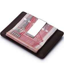 Metal Clamp Banknote Holder Wallet Cash Clamp Credit Card ID Clips Money Clip