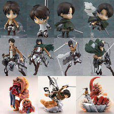 Attack On Titan Eren Yeager Shingeki no Kyojin Figma Figure JP Anime Action Toy