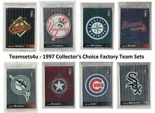 1997 Collector's Choice Teams (Factory Team Sets) ** Pick Your Team Set **