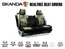 Coverking Realtree Camo Custom Front and Rear Seat Covers for Jeep Renegade