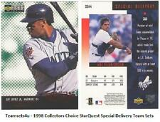 1998 Collectors Choice StarQuest Special Delivery Baseball Set ** Pick Your Team
