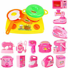 Kids Pretend Role Play Kitchen Fruit Vegetable Food Toy Cutting Sets Appliance