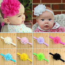 Baby Kids Toddler Girls Heanband Infant Flower Hair Band Headwear Accessories