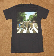 The Beatles Abbey Road, New Mens T Shirt, Sizes S M L XL Music Rock Black