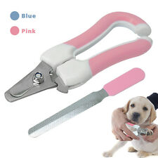 Pet Cat Dog Nail Clippers Trimmer Small Large Dogs Claw Cutter Scissors Grooming