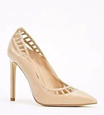 RRP £55 LADIES STILETTO POINTED TOE HIGH HEELS PARTY PUMPS COURT SHOES SIZE 3-8