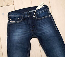 NEW DIESEL THANAZ 74W  SKINNY JEANS WASHED BLUE thavar shioner SIZES 29/32
