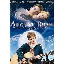 August Rush NEW (DVD) Freddie Highmore, Robin Williams Sealed ED