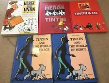 Rare Herge & Tintin Factual Books 1st Editions BUY INDIVIDUALLY EO World Creator