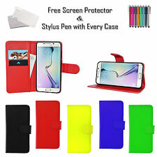 Premium Leather Pu Book Wallet Case Cover ID Holder For Samsung Galaxy J3 2017
