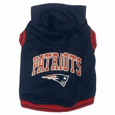 New England Patriots NFL Officially Licensed Pet Team Hoodie Sweatshirt