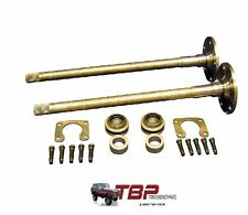 "1976-1977 Early Ford Bronco 9"" 31 Spline Rear Axle Kit Big Bearing/11"" Drum"