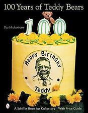 """HOCKENBERRY """"100 YEARS OF TEDDY BEARS"""" 2002 1ST ED HC VG COLOR PIX WITH PRICES"""