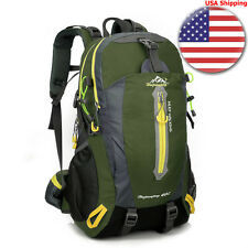 40L Camping Professional Backpack Rucksack Climbing Internal Frame Bag Hiking US