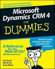 Microsoft Dynamics CRM 4 For Dummies Author: Scott, Joel