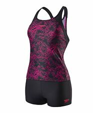 SPEEDO Womens Boom Allover Tankini Swimsuit - NEW for 2017 - 119587