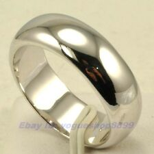 Size 6,7,8,9,9.5,10,10.5,11,11.5 Ring,REAL CUPID 18K WHITE GOLD GP SOLID 5845r