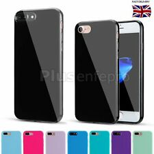 Ultra Slim Soft TPU Silicone Rubber Jelly Back Case Cover For iPhone 7 or 7Plus