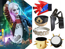 Movie Harley Quinn Suicide Squad Cosplay Complete Halloween Accessories Set