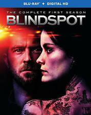 Blindspot: The Complete First 1st Season (Blu-ray Disc, Digital HD, 2016) NEW