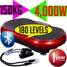 Ultra Slim Exercise Vibrating Plate Machine Platform Fitness Weight Loss 3500W