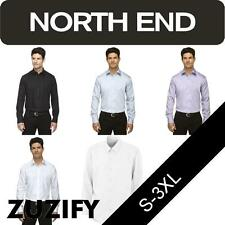 North End Mens Wrinkle Free Dobby Twill Shirt. 88673