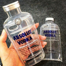 Fashion 3D Clear ABSOLUT VODKA Bottle TPU Case Cover Skin For iPhone 5 5s 6 Plus