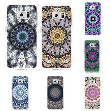 INDIAN MANDALA PRINT CASE COVER FOR IPHONE 5C 6S 7 PLUS SAMSUNG S6 PLUS FAST PIN