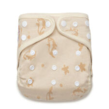 KaWaii Baby One Size Naturally Colored Organic Cotton Cloth Diaper