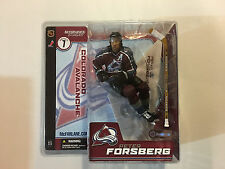 McFarlane Toys Peter Forsberg figure 2003 Colorado Avalanche NHL Series 7 new