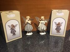 Leonardo Collection Fairy Dreams Figurines. Silver Leaning/ Standing. NEW in Box