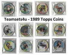 1989 Topps Coins Baseball Set ** Pick Your Team **