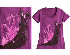 NEW Disney Store MALEFICENT Dragon Diablo Ladies Tee Shirt T Sleeping Beauty