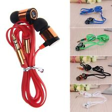 For Samsung Phone MP3 MP4 IPod PC Popular Bass Headphone 3.5mm Earphone In-Ear