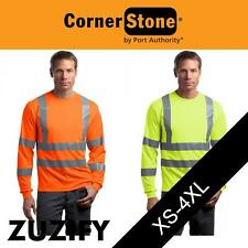CornerStone ANSI 107 Class 3 Long Sleeve Snag-Resistant Reflective Shirt CS409