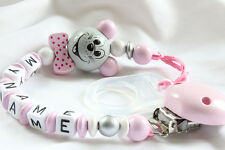Dummy Clip with your baby`s name on it - Personalised lovely baby gift
