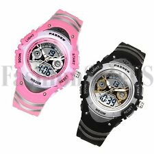 Fashion Multifunction Outdoor Sports Electronic Dual Display Wrist Student Watch