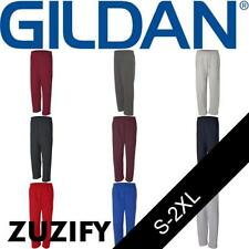 Gildan Dryblend Open Bottom Pocketed Sweatpants. 12300