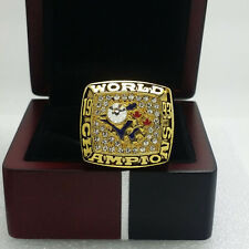 1993 Toronto Blue Jays World Series Championship Solid Alloy Ring 11Size Gift