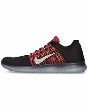 Nike Free RN Flyknit Mens Running Shoes Night Maroon - Crimson 831069 603 NEW