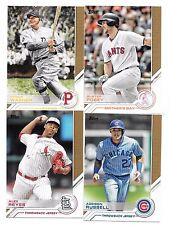 2017 Topps Salute Insert Set You Pick Complete Your Set