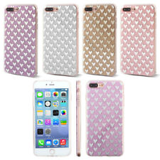 Plastic Heart-shaped Pattern Phone Protective Case for 5.5 Inch iPhone 7 Plus