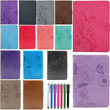 Butterfly Leather Flip Smart Case Wallet Stand Cover For Apple iPad 2 3 4/ Mini
