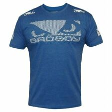 Bad Boy Walk In 3.0 T-Shirt Badboy Blue MMA BJJ No Gi Fight T Shirt
