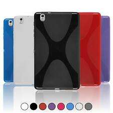 Samsung Galaxy Tab Pro 8.4 TPU Case Cover X-Style + protective foils