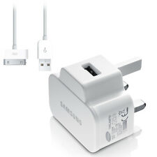 GENUINE SAMSUNG MAINS USB WALL CHARGER 4 GALAXY S4 S2 S3 S5 NOTE Nokia Sony HTC