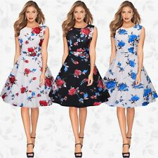 Woman Women Dress Evening Dresses Prom Formal Gowns Ceremony Party Print Flowers