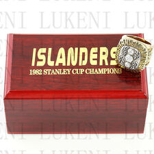 1982 New York Islanders Stanley Cup Hockey Championship Solid Ring 10-13Size