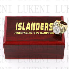 1983 New York Islanders Stanley Cup Hockey Championship Solid Ring 10-13Size