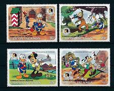 [22180] Caicos Islands 1985 Disney Characters 200th Birthd. Brothers Grimm MNH